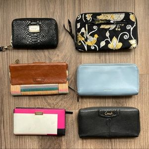 Wallets :: Fossil :: Coach :: Kate Spade